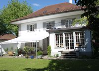 Villa with a big  privat garden near to the city of Bern