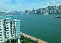 Kowloon Apartment on the Victoria Harbourfront Promanade
