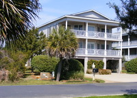 Coastal home on creek 1 block from one of SC's most beautiful beaches