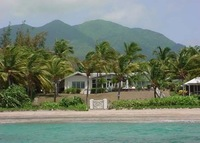 Beachside home on the friendly Caribbean island of Nevis