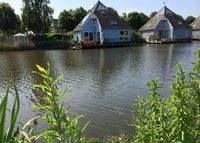 Watervilla near Amsterdam, the Netherlands