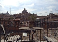 Rome: Penthouse with breathtaking view near Pantheon