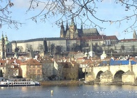 Gorgeous sunny 3-bdroom flat in the center of Prague, Cz