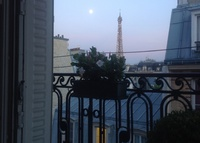 Paris Effeil Tower view looking for Miami