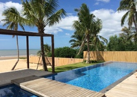 Beachfront Pool Villa in Thailand, Secluded beach, 5 beds 6 bath