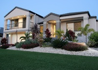 Large 4 B/R tri level home with Swimming Pool on Bribie Island Qld.