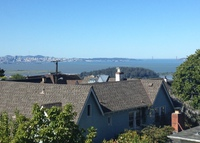 Large house with views of San Francisco and Golden Gate Bridge