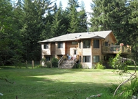 Vancouver Island, Quadra Island home on 5 forested acres