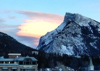 Downtown Banff, Canadian Rockies