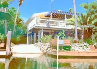 The American Caribbean, a canal house in the lower Florida Keys