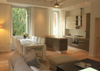 Como Italy, luxury apartment in the heart of historical center