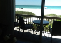 Beautiful beach front condo on Anna Maria Island!
