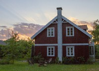 Cosy wooden family home 2 minutes from beach in Hellebæk, Elsinore.