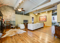 Ultra Chic & Rare Warehouse District Condo