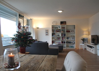 Spacious apartment in Rotterdam with city and harbor view