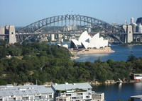 Sensational views of Sydney Opera House, Bridge & Harbour