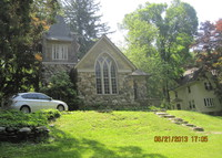 Quirky old stone home was once a church. Feels rural, yet close to NYC