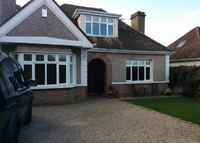 Large detached family home within walking distance of sea