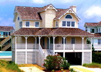 Family friendly 4 Bedroom Beach House 500 ft. from the Atlantic