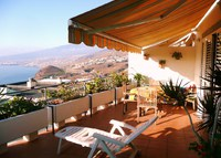 Chalet Tenerife.Canary Islands.Garden, sea & mountain views-2015 full-