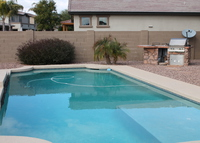 4 bedroom West Phoenix(Goodyear) family home patio and pool