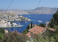 Architecturally restored stone House on Symi