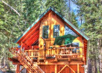 Near Lake Tahoe, Truckee and Donner Lake California.  Beautiful cabin.