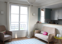 A quiet and cozy 2 bedrooms Flat in the heart of Paris