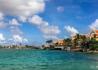 BONAIRE, Dutch Carib. -- Waterfront 2 / 2.5 beach house
