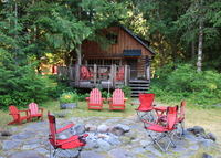 Retreat and Play!  River cabin in the woods - great indoors and out.