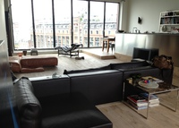 Spacious 2 bedroom appt. Amsterdam centre (harbour view) 150 sqm.