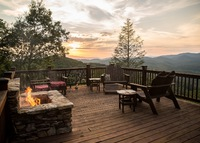 Blue Ridge GA Mountain Lodge Style Home
