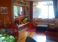 Warm and colourfull familyhome in village next to historic Deventer