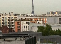 Paris/Boulogne - Exceptional view on the Eiffel Tower