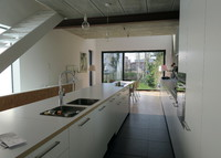 New single family house with garden in Brussels