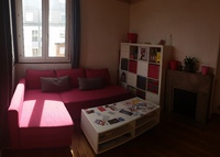 apartment 1 room 4 persons in Paris XXe next to subway & tramway