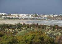 Overlooking the ocean in the trendy fishing village of Paternoster.