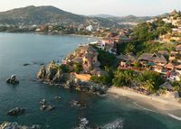 Luxurious Four Suites Villa-Style Property in Zihuatanejo, Gro. Mexico