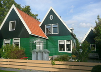 Charming house, 2br, 15 minutes to Amsterdam, 20 minutes to beach