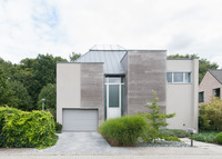 Large modern architect villa near Bruges