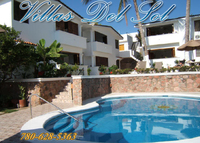 Villas Del Sol,  2 bedroom, 2 bath, a/c, heated pool