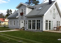 Modern family home close to Stockholm and the sea/archipelago