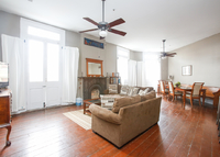 Stunning 2000 sq ft flat with balcony overlooking Frenchmen St.