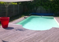Bordeaux house with pool August 2016