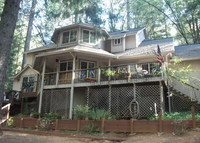 Beautiful, secluded, large forest family home - Gold country paradise!