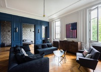 Luxury 3/4 bedroom, typical french appartement in Central Paris