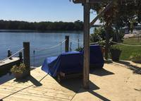 Beachside home waterfront with dock, close to beach!