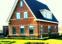 Lush Country/Farm house near river and city of Amsterdam and Haarlem