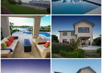 Luxury 5000 sq ft waterfront family home 5mins from white sand beach