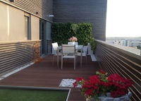 Beautiful duplex penthouse next to Madrid. Looking for Cophenague.